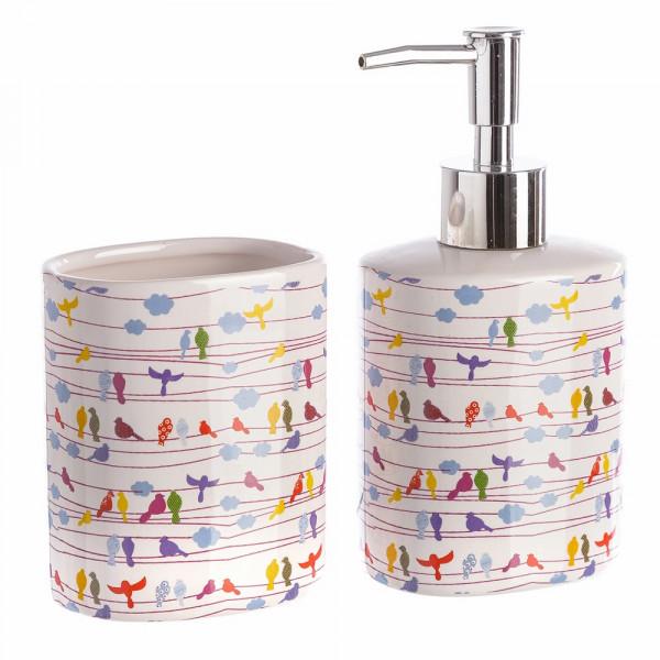 Accesorios de baño infantil multicolor de cerámica | LOLA home