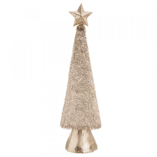 73043649604b3 Árbol de Navidad de foam dorado de diseño oriental para decoración navideña  de 113 cm Christmas