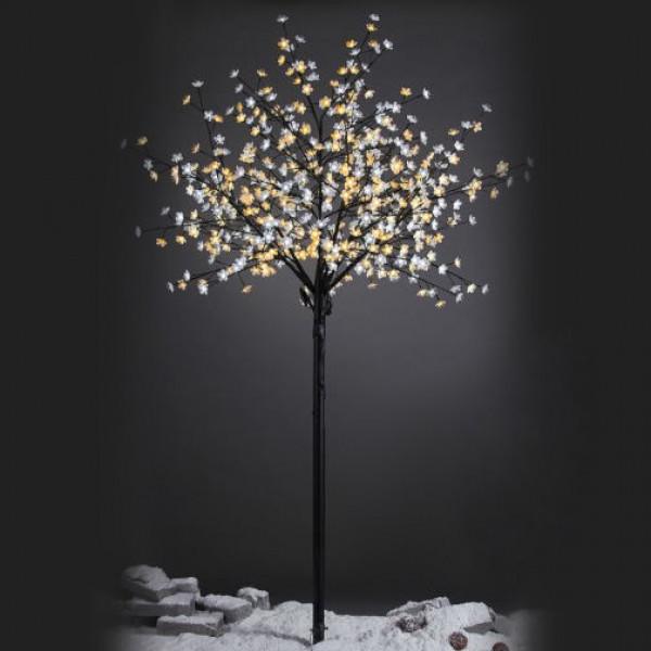 árbol De Navidad Con Luces Led De Interior Y Exterior Negro Romántico Para Decoración Navideña De 210 Cm Christmas