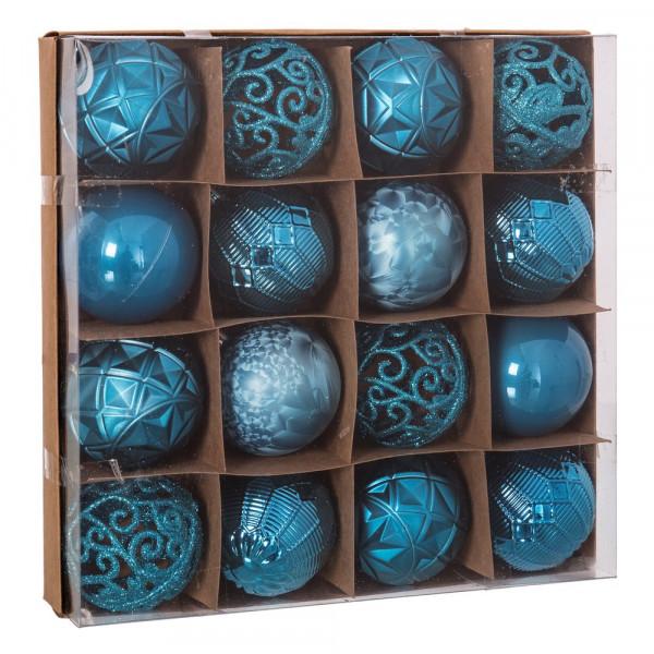 f836c19c1c7 Bolas de Navidad para árbol de plástico azules modernas para decoración  navideña Christmas - Principal