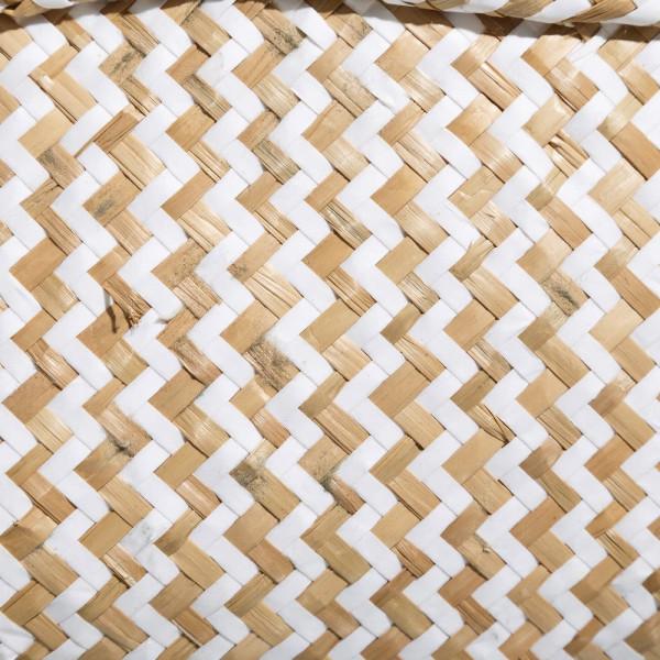 Cestas multiusos de fibra beige rústicas para cuarto de ...