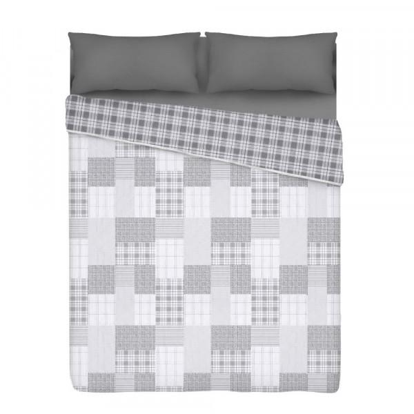 Colcha edredón cubrecama gris de poliéster de cama 90 rústica para dormitorio Factory