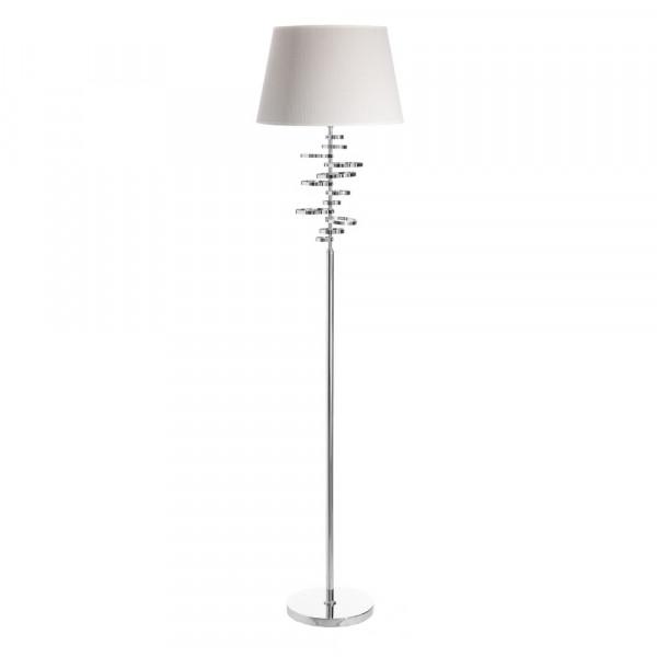 165 Cm Lámpara Diseño De Geométrica Contemporánea Plateada Metal H29YWEID
