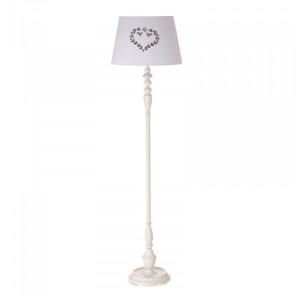 dormitorio Child pie romantica de hierro para Lámpara de blanca QrdCxtBsho