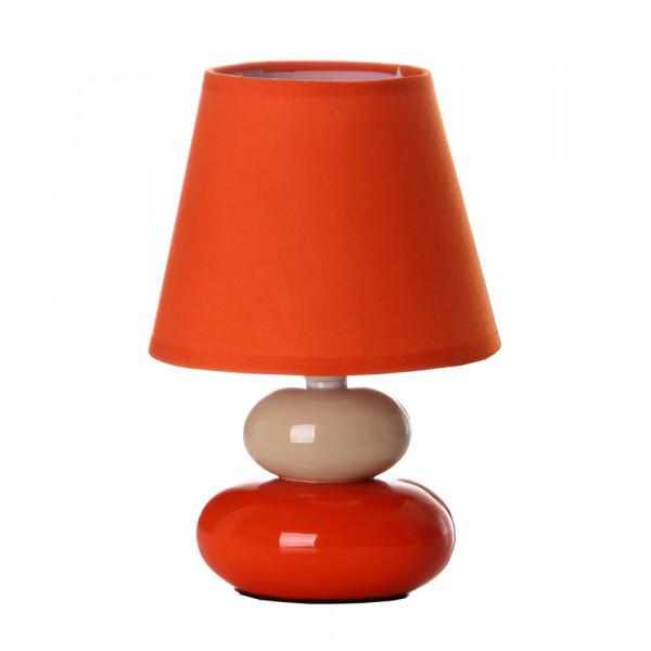 de para de mesita naranja noche pop dormitorio Iris Lámpara para cerámica H9IED2