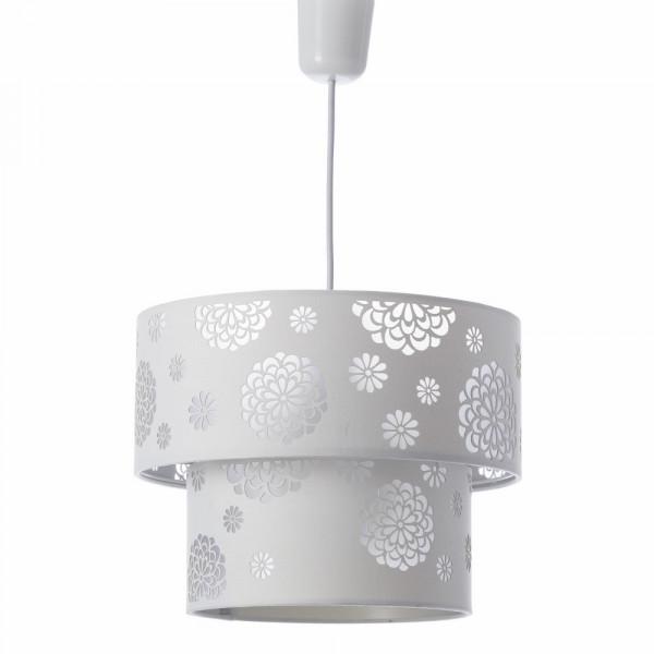 Lámpara De Techo Moderna Blanca De Poliéster Para Salón Fantasy