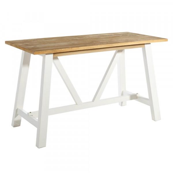 Mesa de cocina de madera blanco nórdico para cocina | LOLA home
