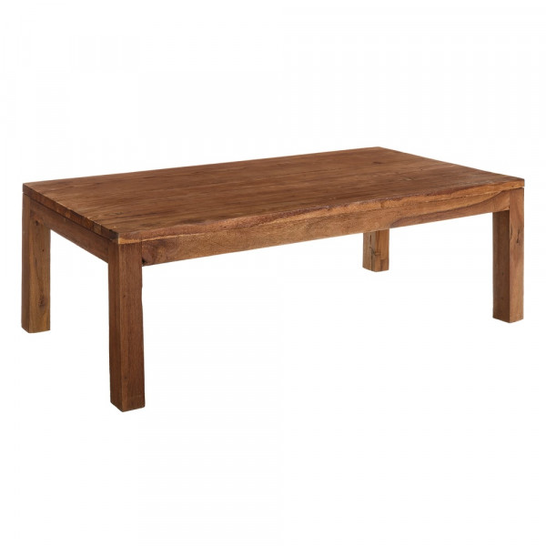 Mesa de comedor de madera marrón rústico | LOLA home