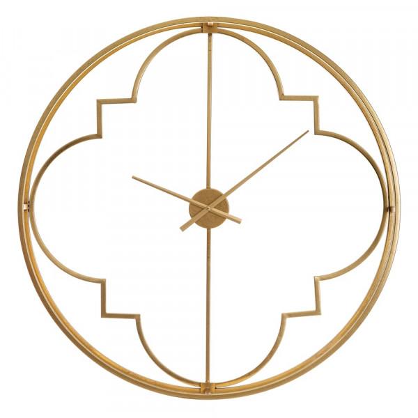 f1cd04d21885 Reloj grande redondo de metal dorado moderno para salón Arabia - Principal