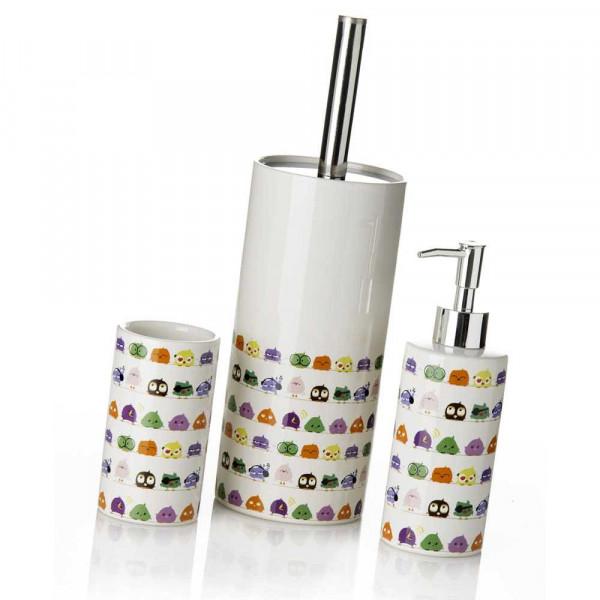 Accesorios de baño infantiles multicolor de cerámica para ...