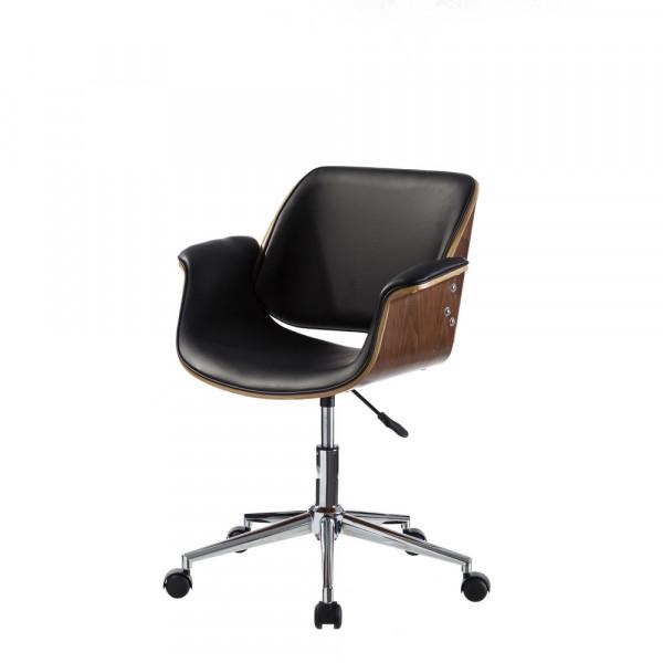 Silla de escritorio de madera negra moderna para oficina Factory
