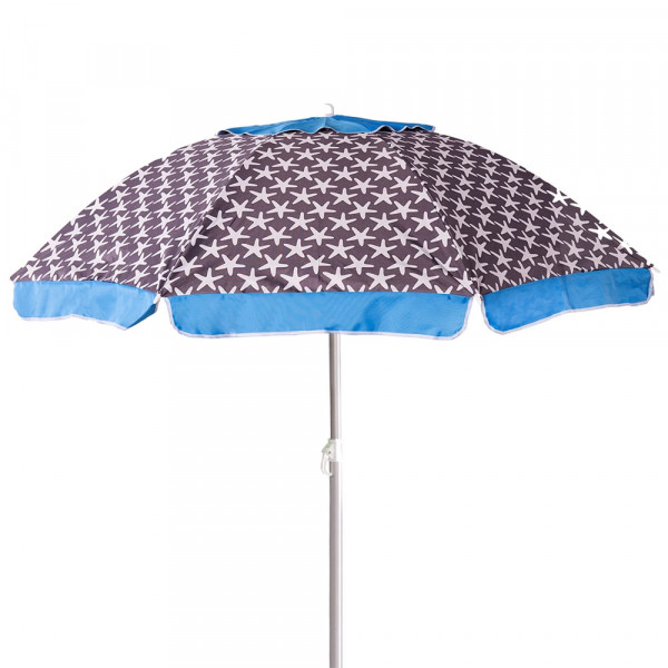 Sombrilla de Playa Parasol de Aluminio 240 cm Garden LOLAhome