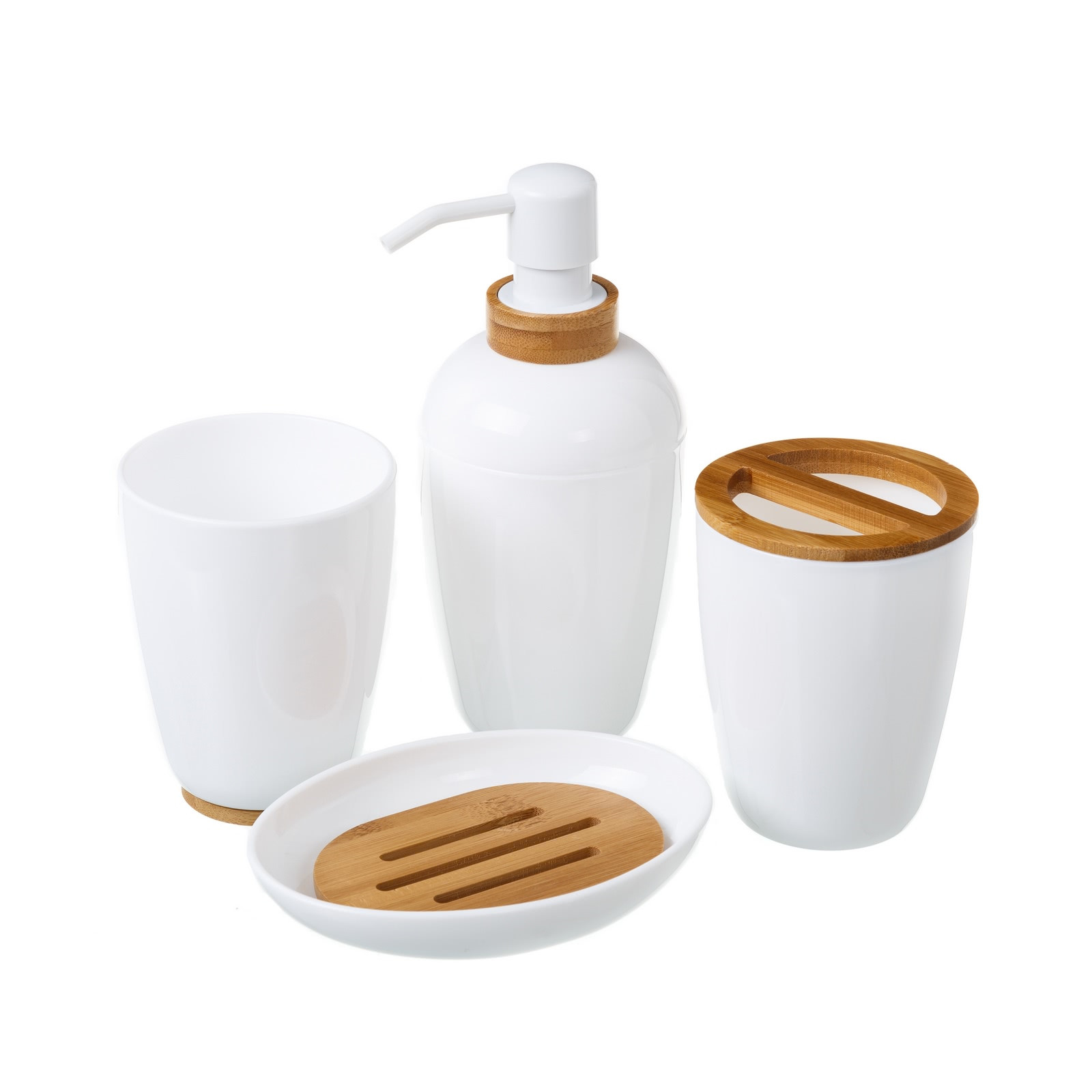 Accesorios de baño bambú | LOLA home