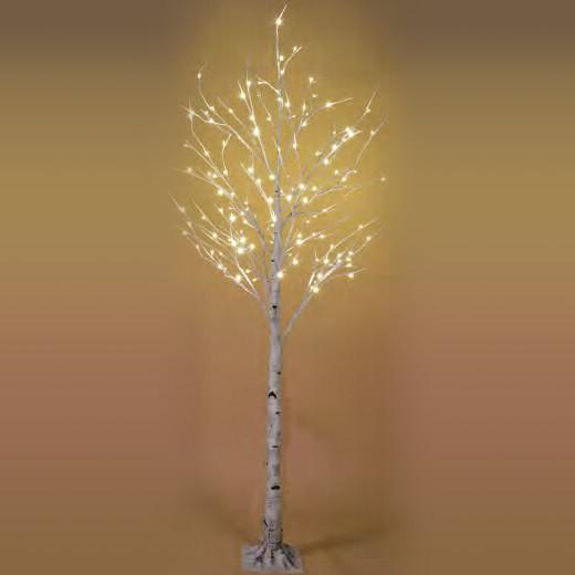 De luces de led blanco n rdico para sal n lola home - Luces arbol de navidad ...