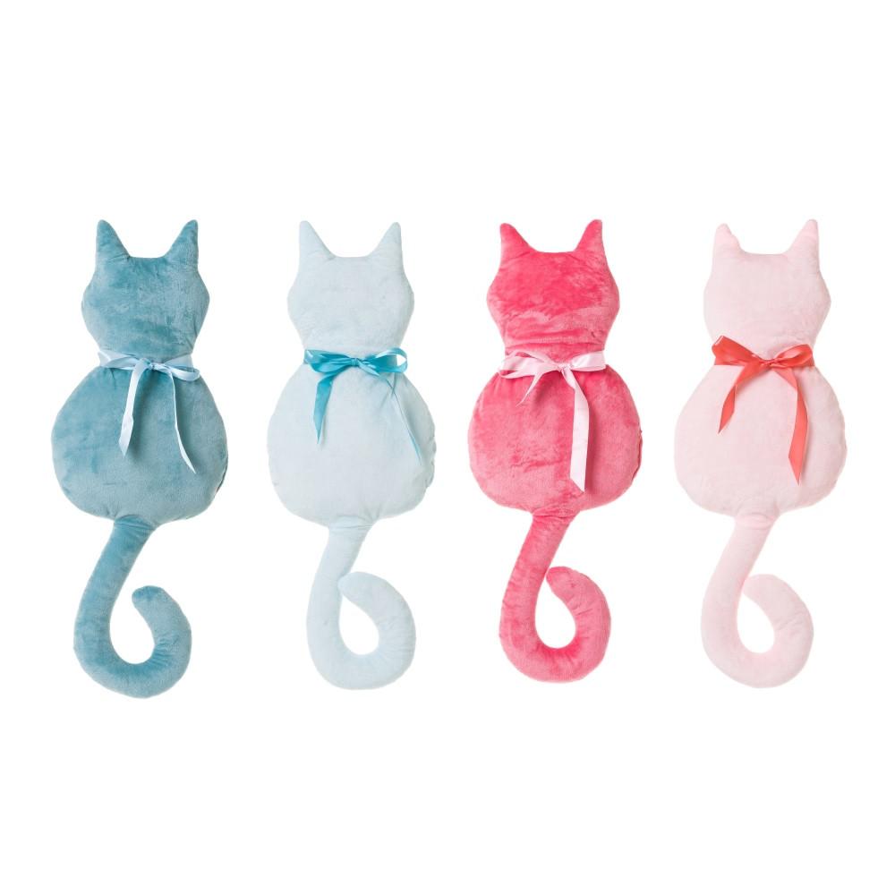 Dcasa Cojin original forma gato rosa